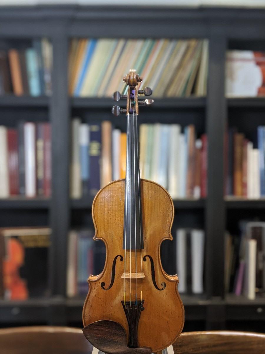 Collin-Mezin Paris 1912 Violin Top