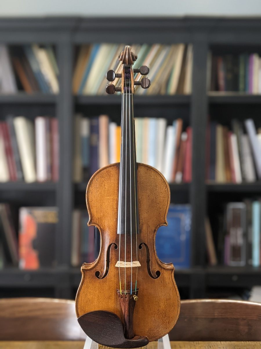 Georges Mougenot, Brussels 1880 Violin Top