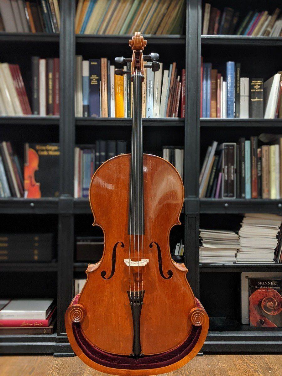 Robert Spear Accokeek 1989 Cello Top