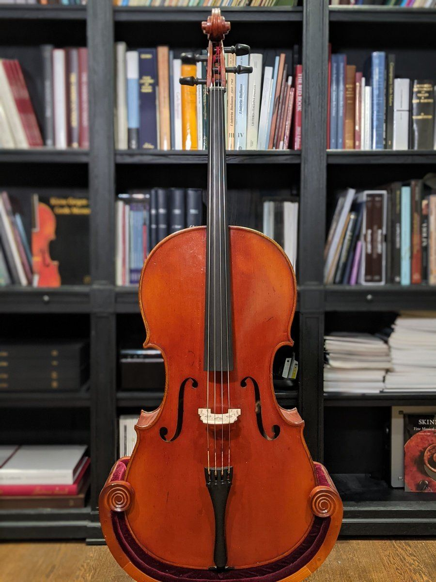 Wilfried Leonhardt Mittenwald 1973 Cello Top